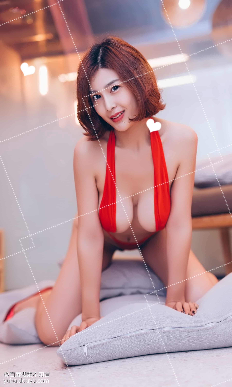 閆盼盼浴室红妆 52P